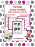 First Grade Math {Numbers & Operations in Base Ten}