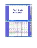First Grade Math PALS
