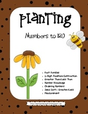 First Grade Math Pack - Plants Theme with Numbers to 120