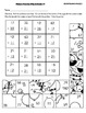 First Grade Math Picture Puzzles:  Silly Animals