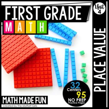First Grade Math: Place Value