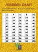 First Grade Math Place Value Hundred Chart