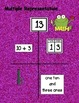 Number Combinations Place Value First Grade Math Multiple Representation