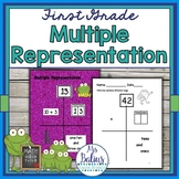 Place Value Multiple Representation Math Practice