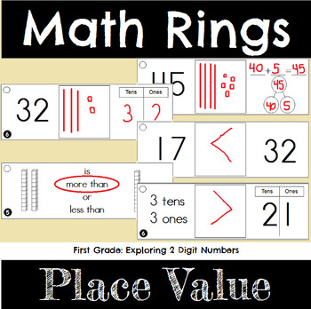 First Grade Math Place Value for Two Digit Numbers