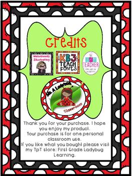 First Grade Math Posters