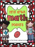 First Grade Math Posters