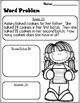 First Grade Math Print and Go