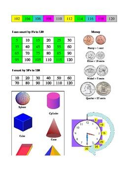First Grade Math Progress