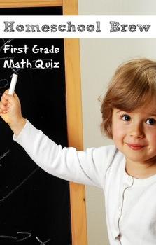 First Grade Math Quiz