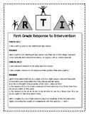 First Grade Math RTI Progress Monitoring Probes Aligned to Common Core