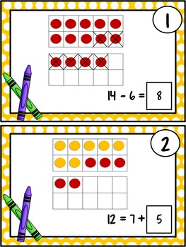 First Grade Math: Representing Addition & Subtraction: TEKS 1.5D