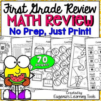 First Grade Math Review - End of Year