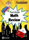 First Grade Math Review - Flashcards