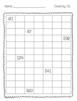 First Grade Math Review Sheets Part 2