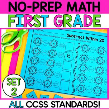 First Grade Math-SET 2