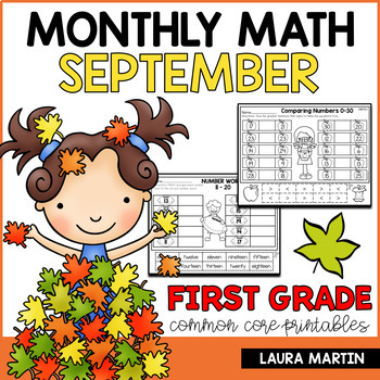 First Grade Math-September