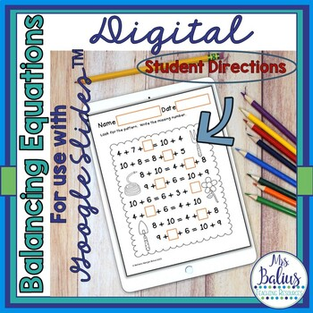 First Grade Math Spring Balancing Equations-Addition CC 1.OA.3, 1.OA 6