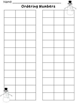First Grade Math Stations for January