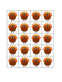 First Grade Math Stations for November with BONUS November Calendar Pieces