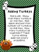 First Grade Math Stations for November with BONUS November