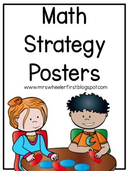 First Grade Math Strategies Posters
