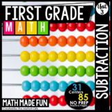 First Grade Math: Subtraction