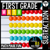 First Grade Math: Subtraction