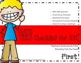 First Grade Math TEKS Checklist