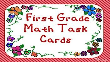 First Grade Math Task Cards