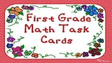 First Grade Math Task Cards