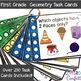First Grade Math Task Cards Bundle {All Standards}