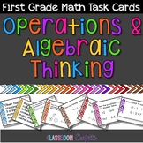 OA First Grade Math Task Cards {Operations and Algebraic T