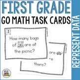 First Grade Math Task Cards: Represent Data