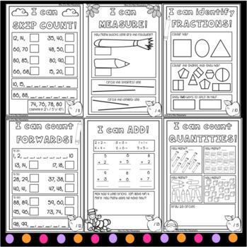 First Grade Math Tests