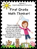 Critical Thinking - First Grade Math Thinker #1