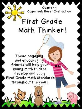 First Grade Math Thinker #4