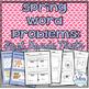 First Grade Math {Through the Year}  Word Problem Bundle CCSS 1.OA.1 1.OA.2