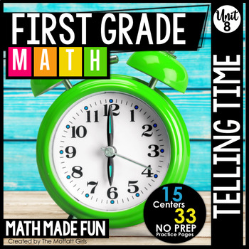 First Grade Math: Time