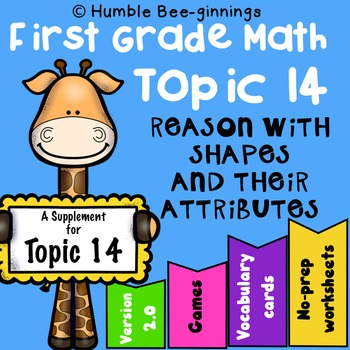 First Grade Math - Topic 14: Shapes and Their Attributes