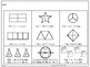 First Grade Math Topic 16:  Fractions of Shapes- 2015 Version
