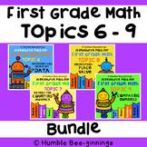 First Grade Math -  Topics 6 - 9