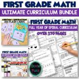 Math Worksheets Ultimate Bundle for First Grade