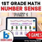 First Grade Math Unit 1: Number Sense Part 1 (9 games)