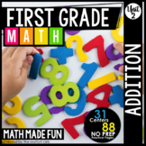 First Grade Math: Addition