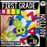 First Grade Math: Addition