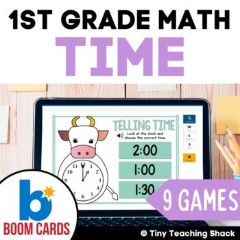 First Grade Math Unit 10: Time