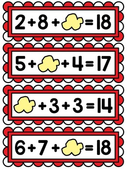 First Grade Math Unit 12 Adding 3 Numbers