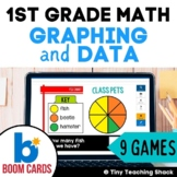 First Grade Math Unit 12: Graphing and Data (9 games)