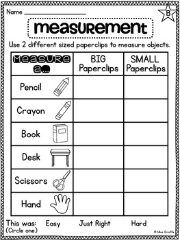 Alliteration Worksheets For Kids Excel First Grade Math Unit  Measurement By Miss Giraffe  Tpt Order Of Operations With Decimals Worksheet with Exponents Practice Worksheets Word First Grade Math Unit  Measurement Landform Map Worksheet Word